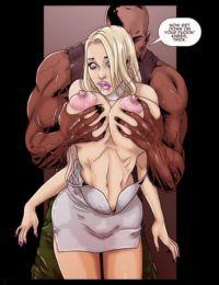 Pegasus- 2 Hot Blondes Submit to Big Black Cock
