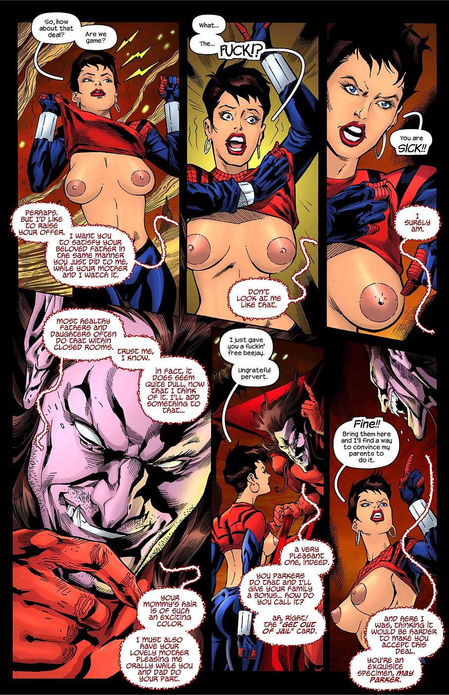 TracyScops- Spider-Girl – One more Day