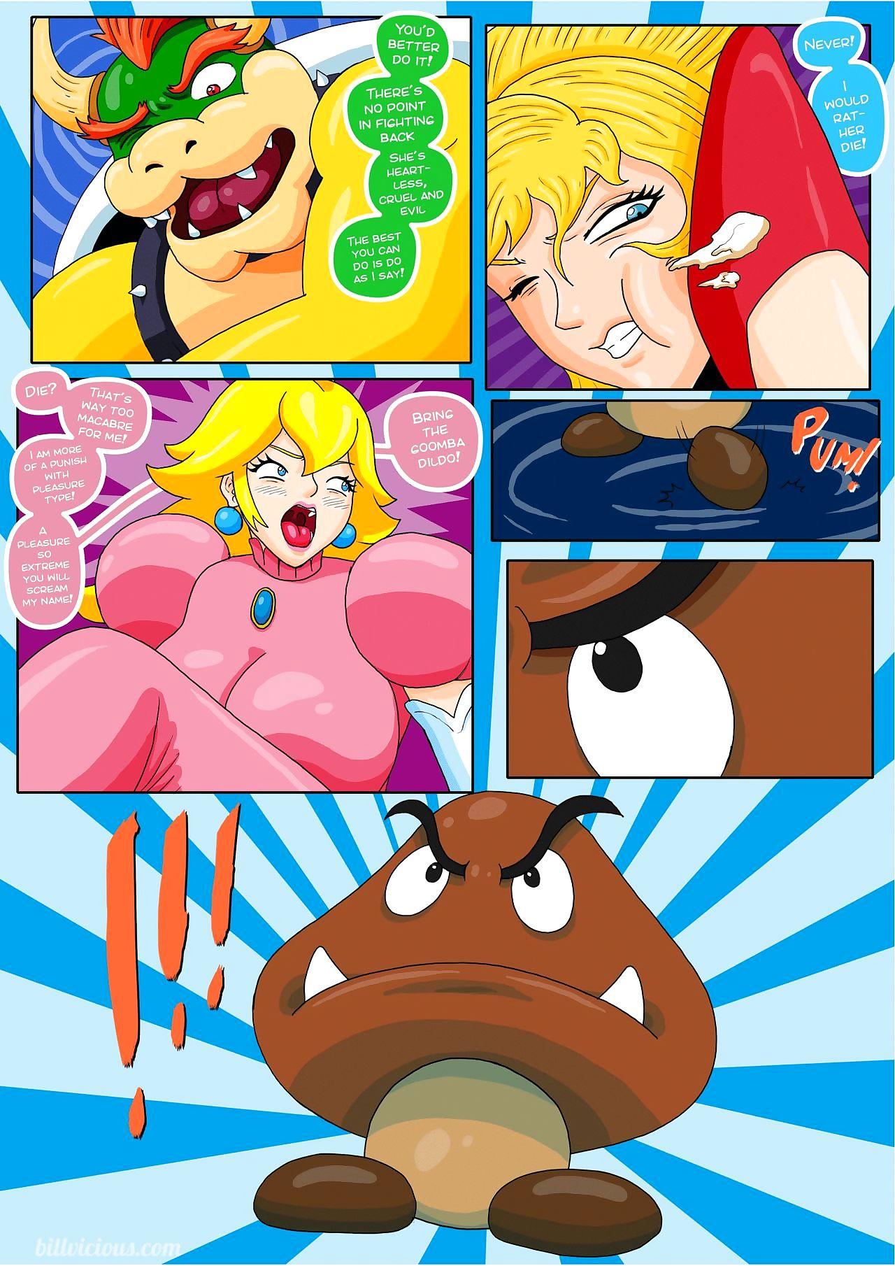 Bill Vicious-Nintendo fantasies Peach X Samus