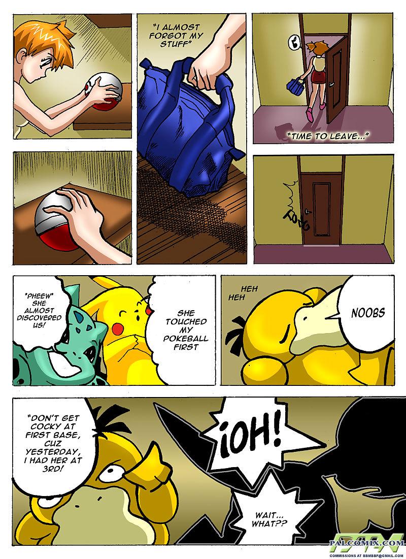 Pokemon- Misty's Room