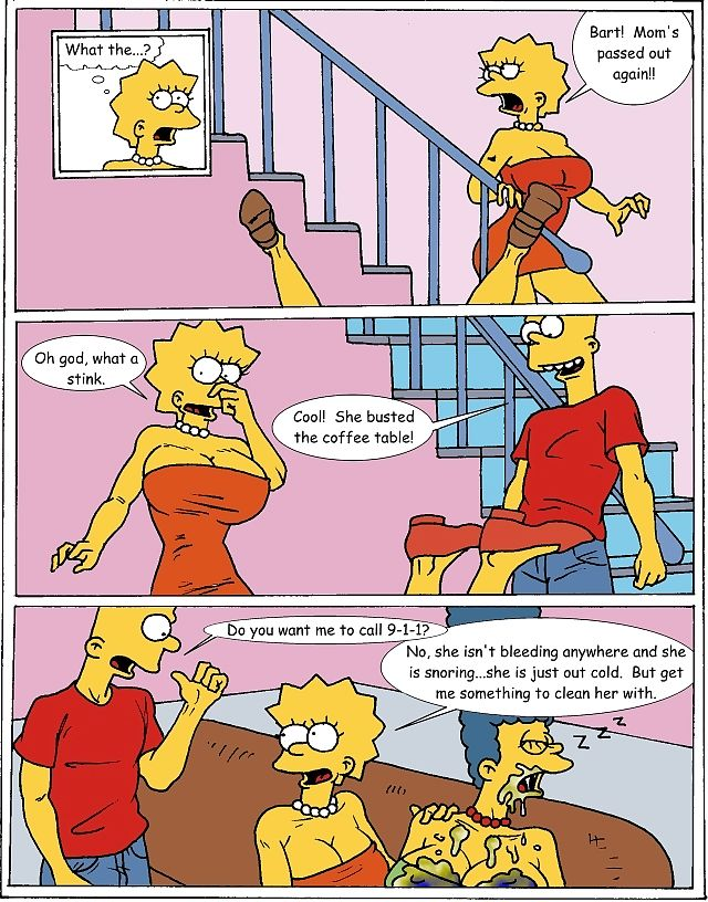 The Simpsons- Marge Exploited