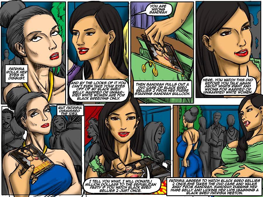 Black Breeding Network 3- illustrated interracial