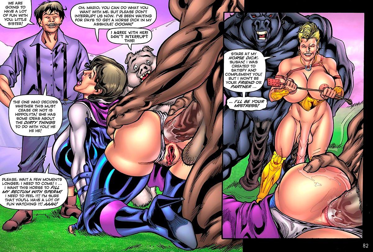 SuperHeroineComixxx- Alien Orgy Farm – Part 2