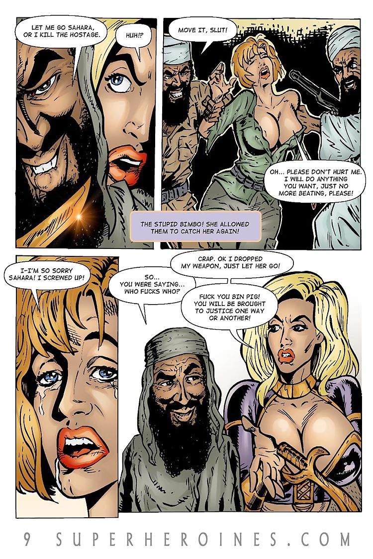 Sahara vs the Taliban 2- 9SH