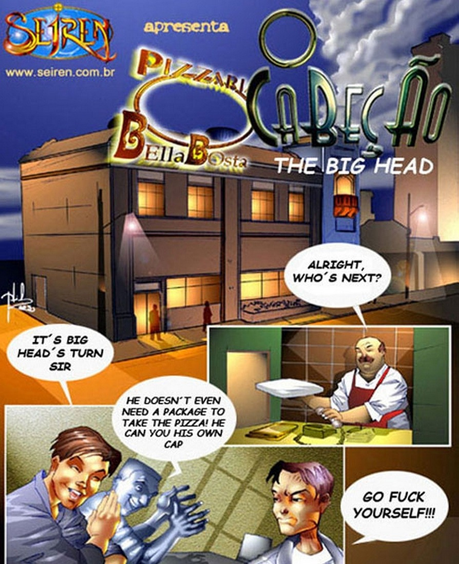 Seiren-The big Head (English)