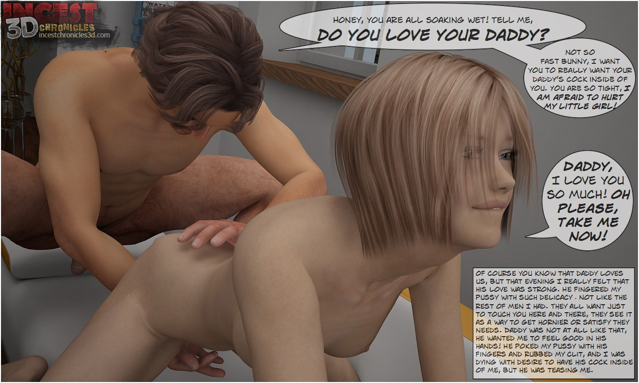 Daddy\'s Birthday- IncestChronicles3D - part 3