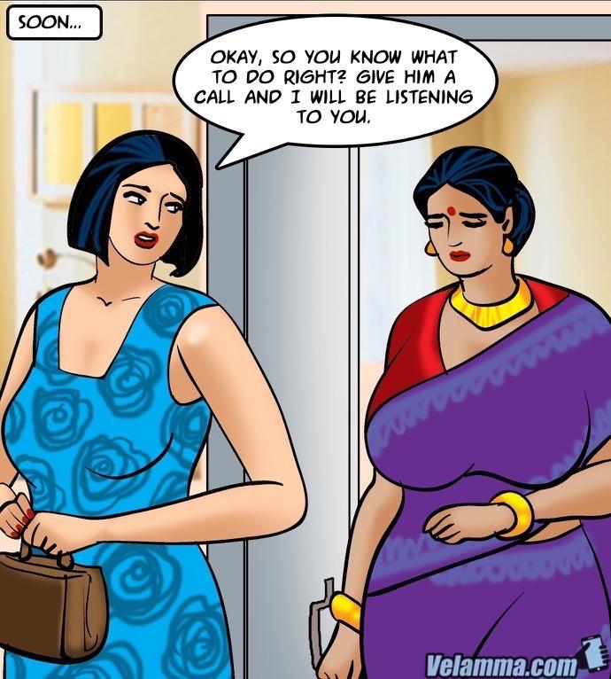 Velamma Episode 64- Blackmailed 2 - part 4