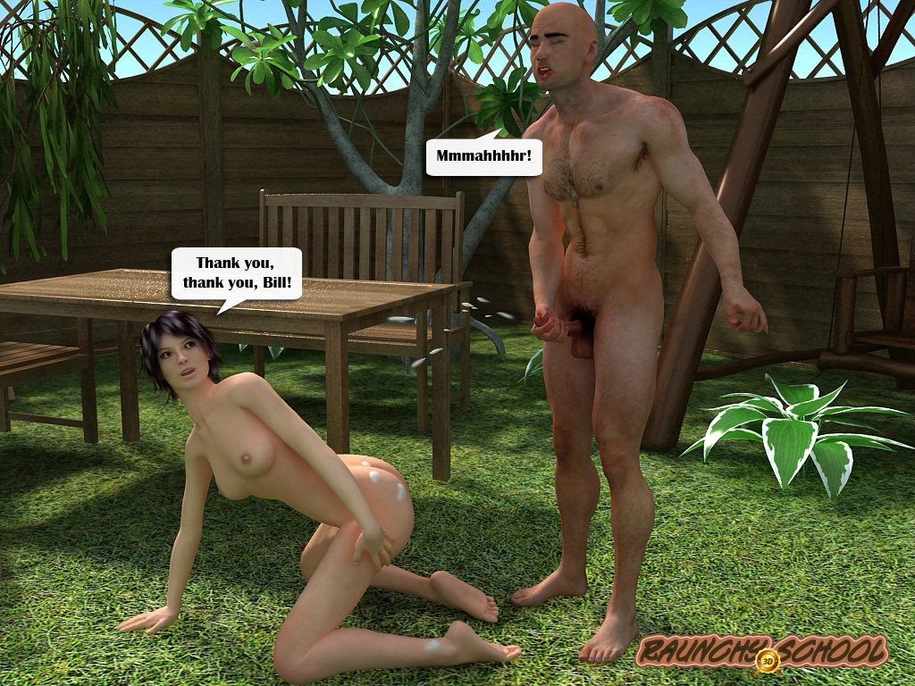 Raunchy School - Barbecue Picnic - part 3