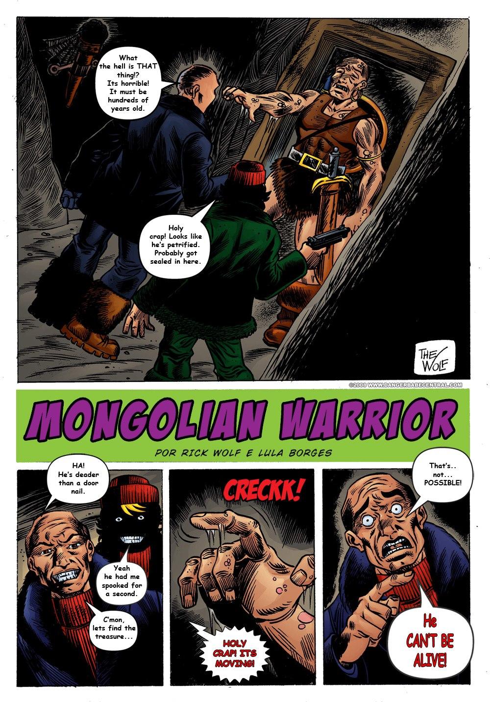 Trina Jones- Mongolian Warrior