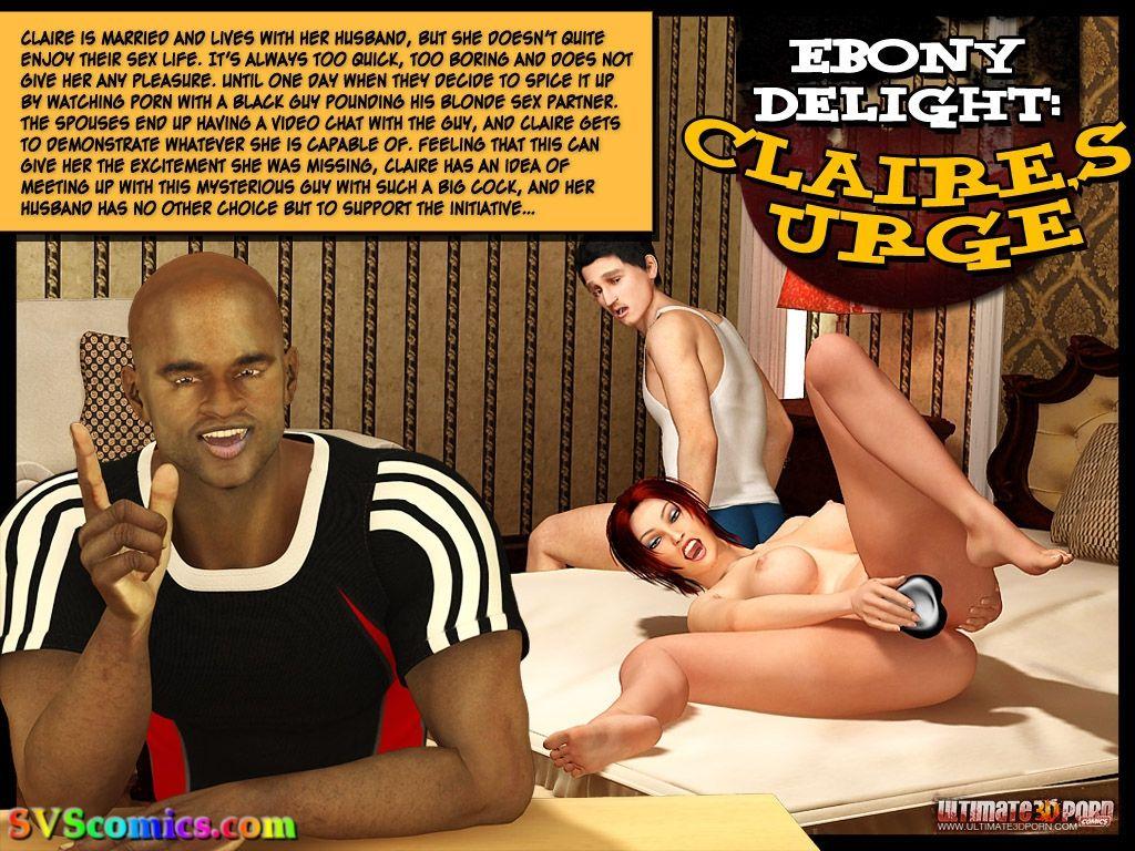 Ebony Delight- Claire\'s Urge