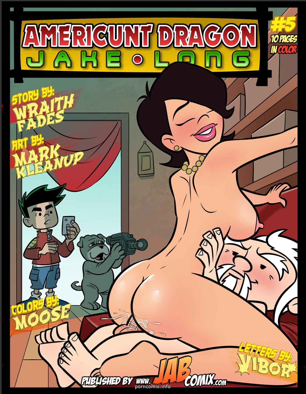 JabComix - Americunt Dragon 5