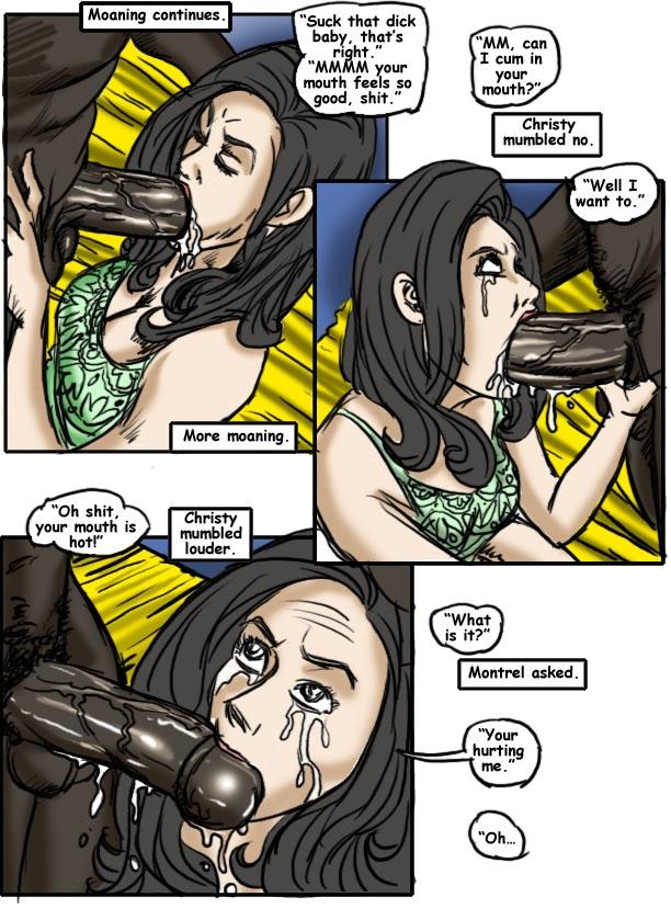 Christy Saga 02- illustrated interracial