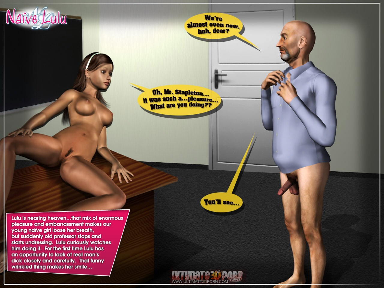 Naive Lulu 1- Ultimate 3D Porn - part 3