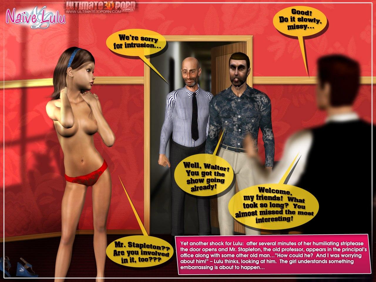 Naive Lulu 1- Ultimate 3D Porn - part 4
