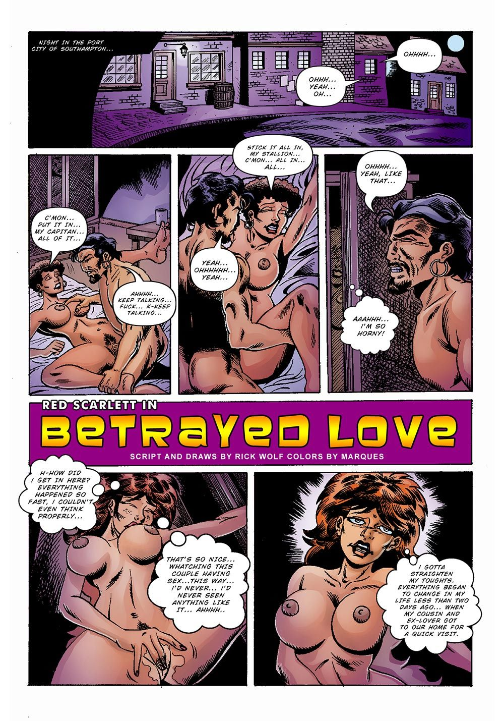 Red Scarlet 3- Betrayed Love