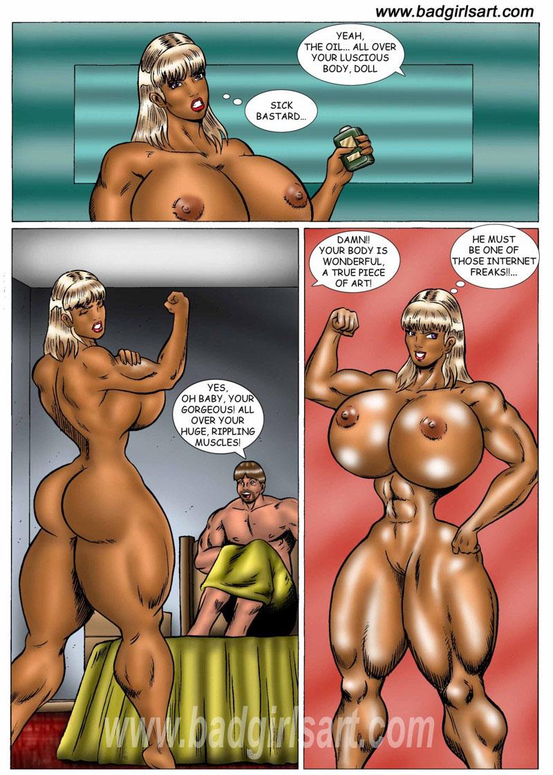 Mimi Blackmailed- Bad Girls Art