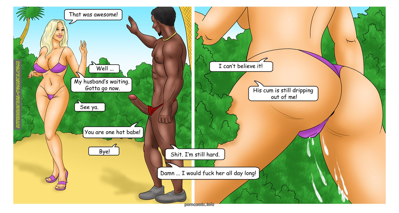 The Caribbean Holidays- Interracial - part 2