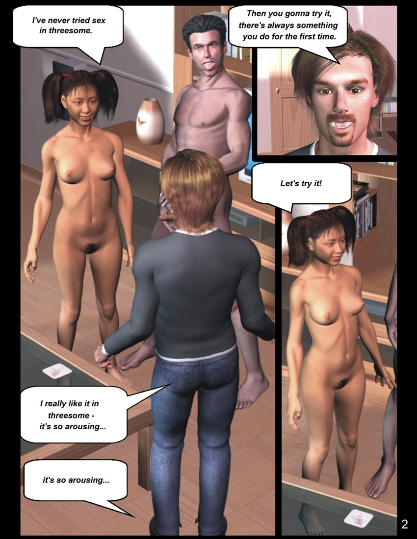 Adventures of the young Girl - Double Pleasure
