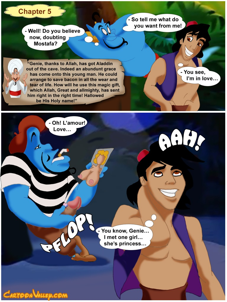 Aladdin- fucker from Agrabah - part 3