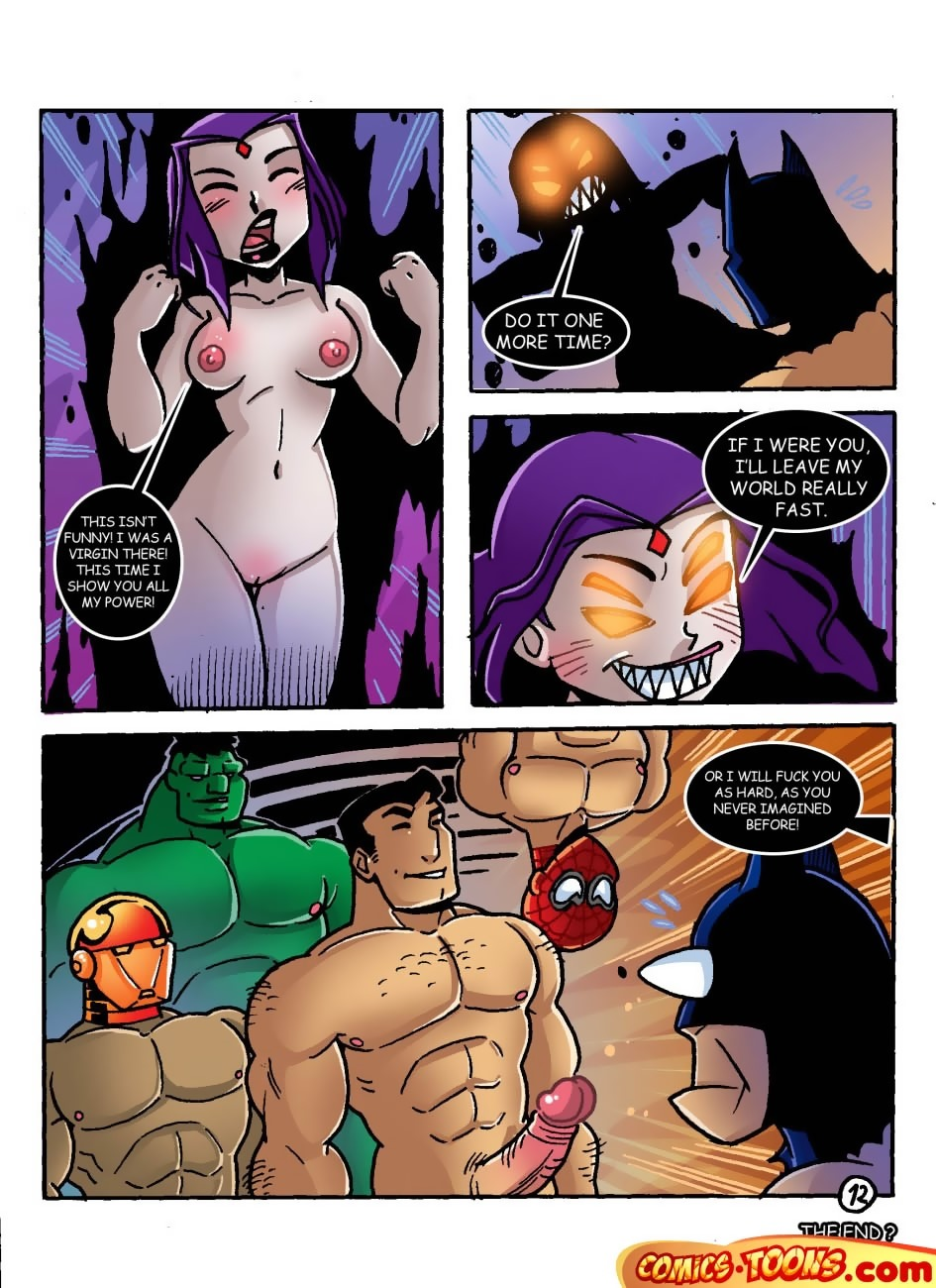 Ravens Dream (Teen Titans, Batman)