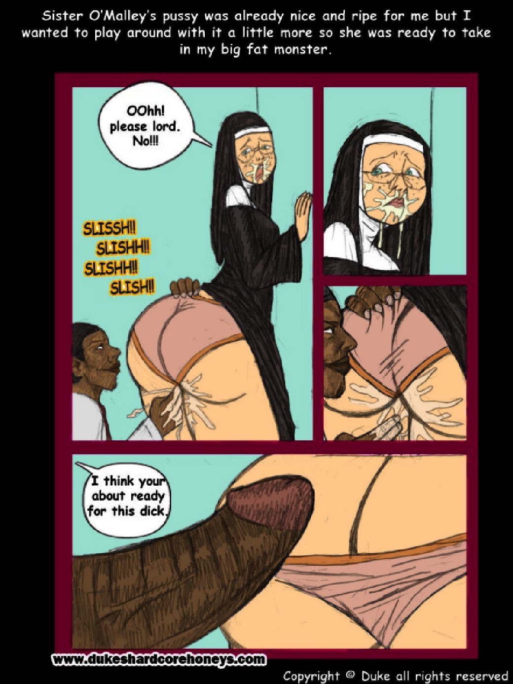 Sister O\'Malley Part 1- 2- Duke Honey