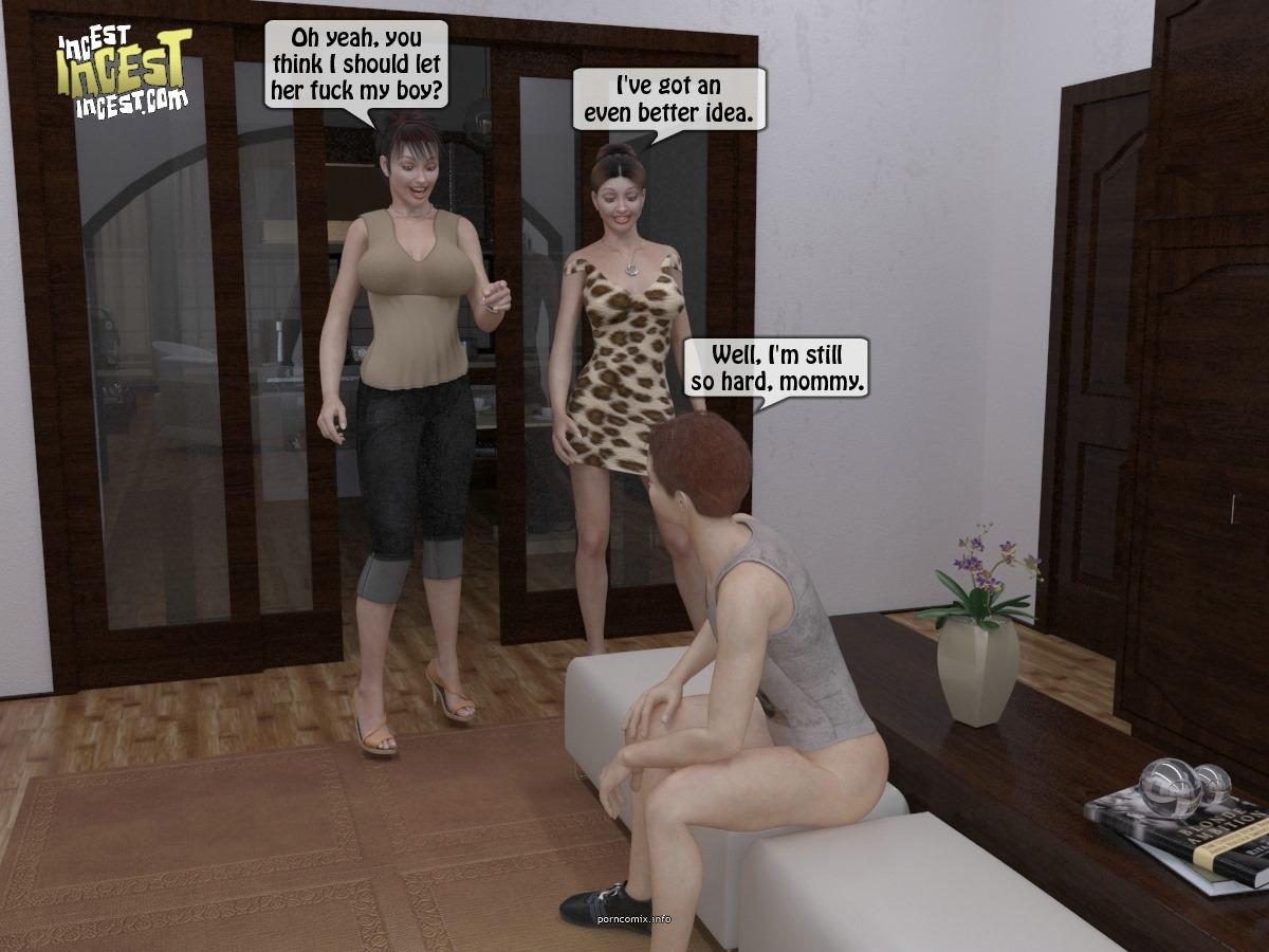 Mom friend trying boy- Incest - part 2