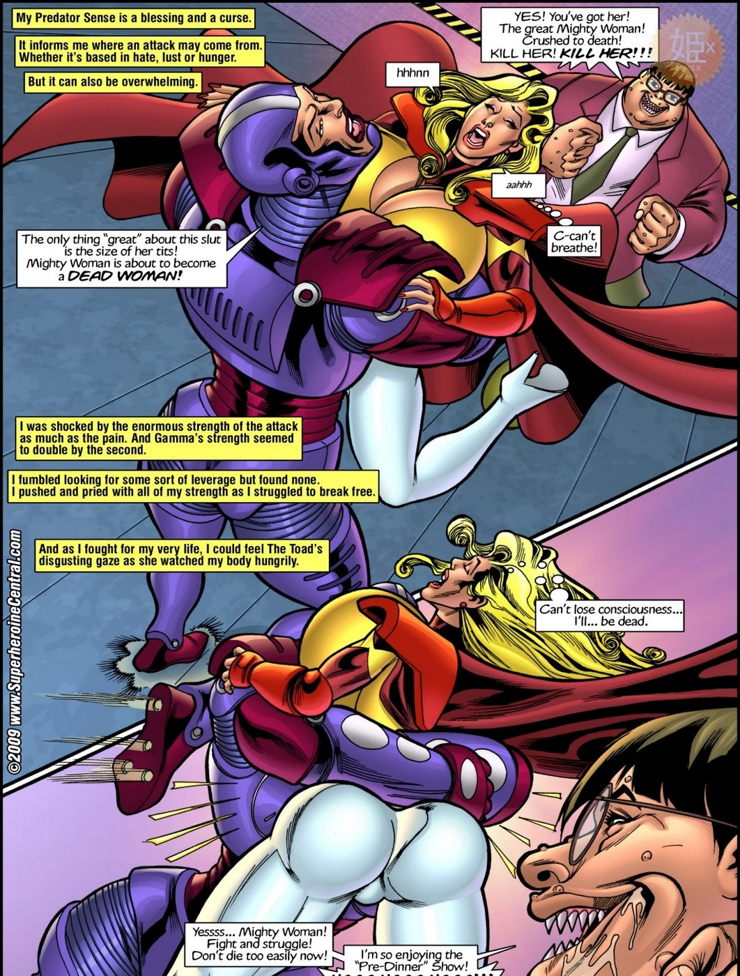Superheroine Central- Mighty cow - part 2
