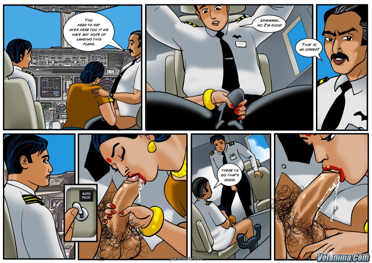 Velamma- Cocks in the cockpit - part 2
