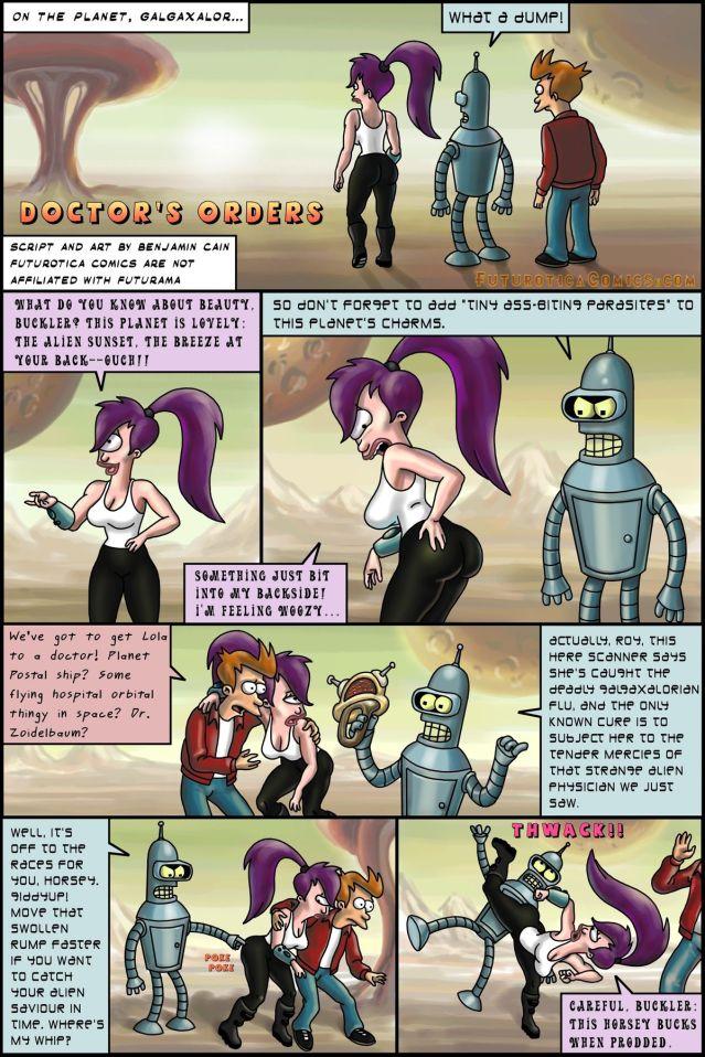 Futurama- Doctor\'s Orders