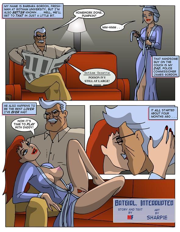 Batgirl Interrupted- Justice League