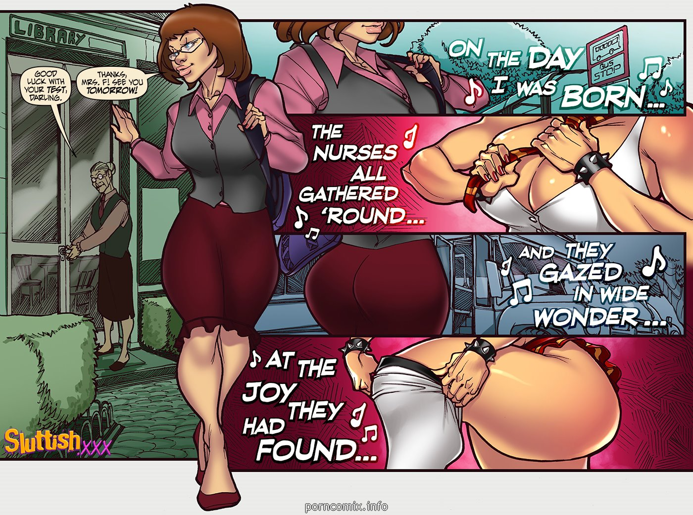 SluttishXXX - Ginnys Week Monday