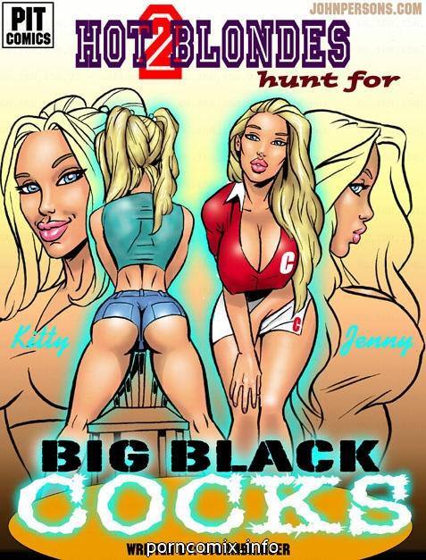 2 Hot Blonde Hunt For Big Black Cocks