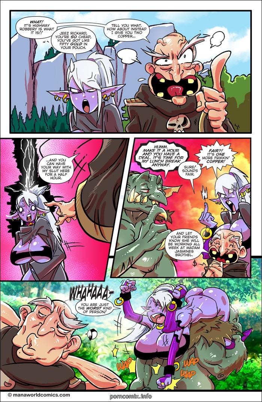 Troll Toll- Mana World
