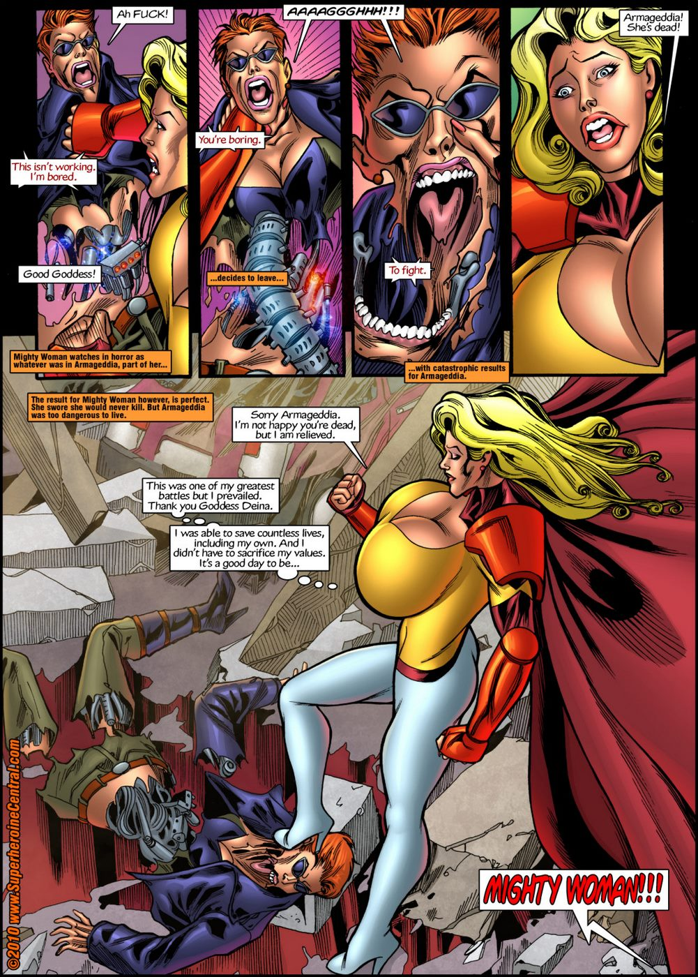 Mighty Woman Prime in Primary Target- Superheroine Central