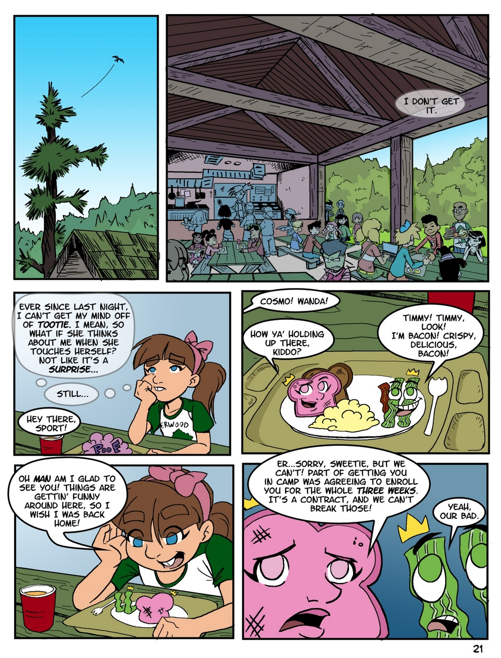 Camp Sherwood [Mr.D] (Ongoing) - part 2