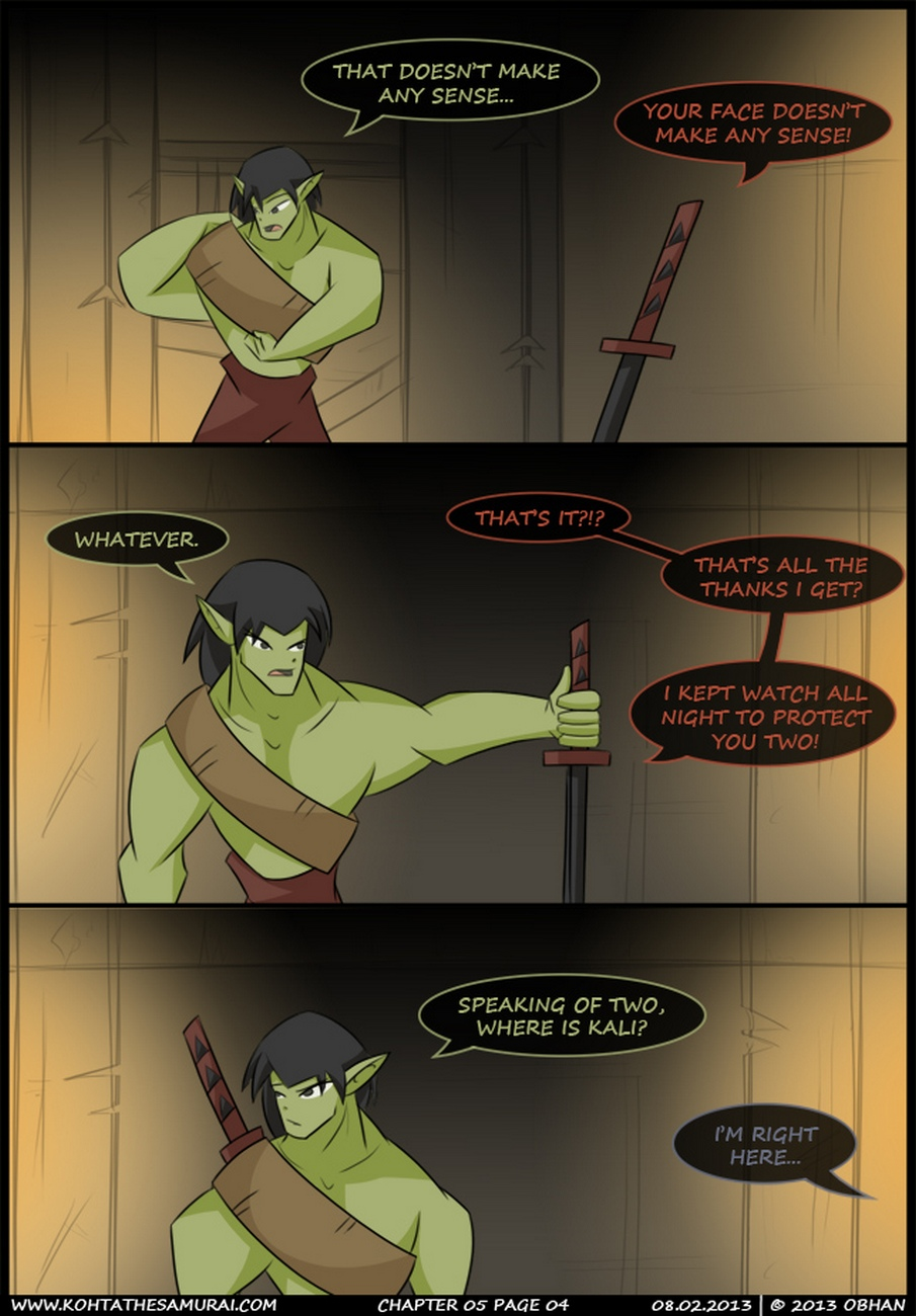 Kohta The Samurai 5