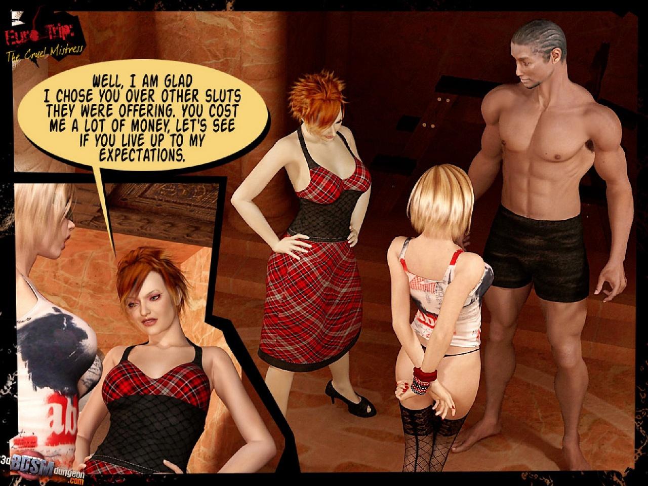 Euro Trip 3 - The Cruel Mistress