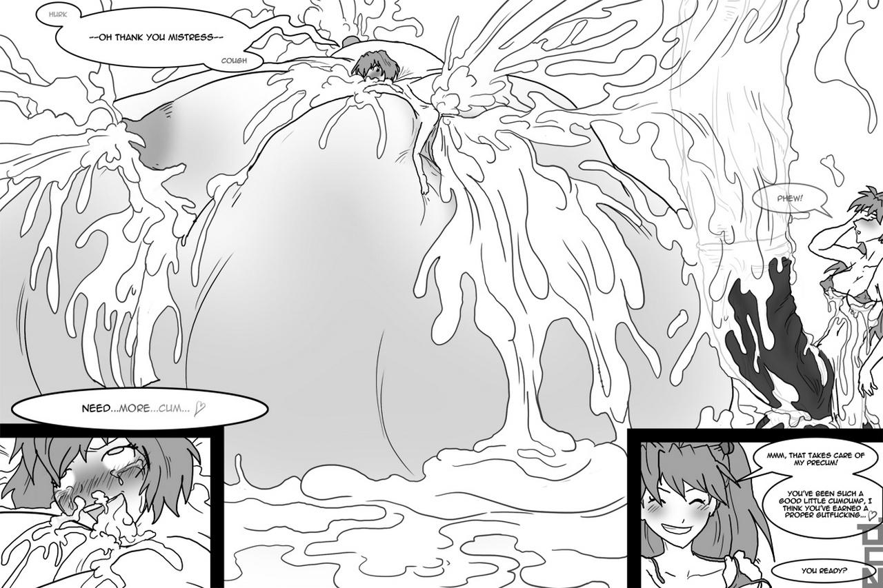 Asuka & Rei Futanari
