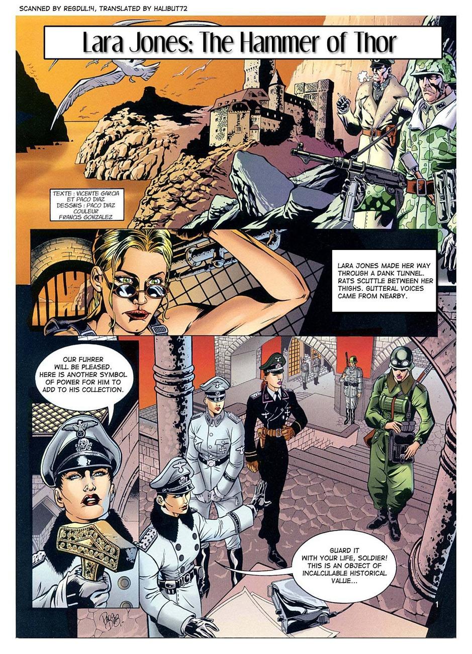 Lara Jones - The Hammer Of Thor