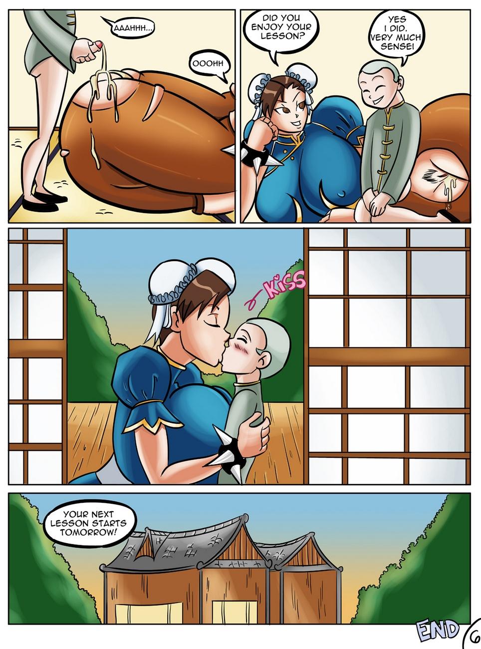 Chun-Li\'s Private Lesson