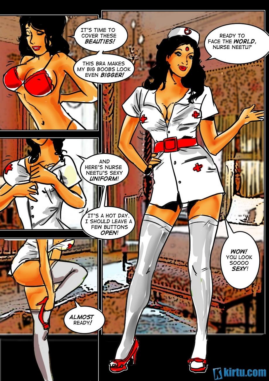 Naughty Nurse Neetu - The Nurse With A Bch