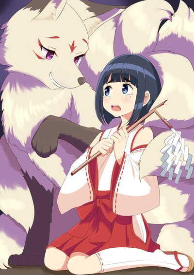 Roina The Girl Who Failed To Defeat The Yōkai Of a Fox Tf + Extra