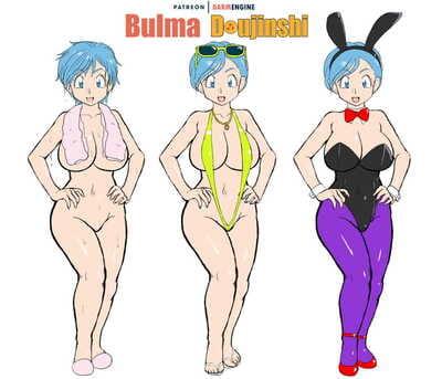 Darm Engine Bulma Doujinshi Dragon Ball Super WIP