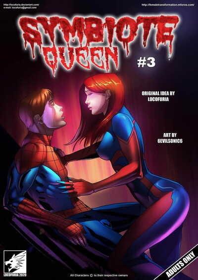 Locofuria Symbiote Queen #3- 6Evilsonic6