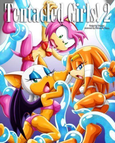 [Palcomix] Tentacled Girls 2 (Sonic The Hedgehog)
