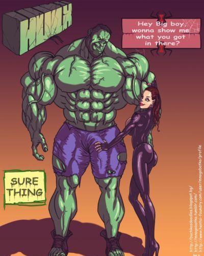 [Mnogobatko] Hulk vs Black Widow