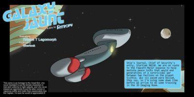 [Rabies T Lagomorph (Entropy)] Galaxy Jaunt - Episode 2 (Star Trek)