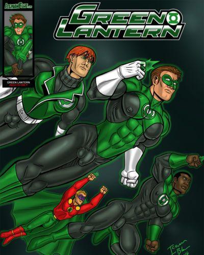 [Iceman Blue] Green Lantern