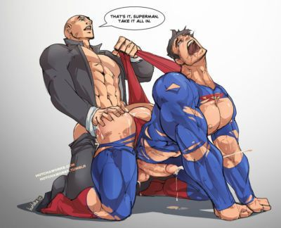 [Hotcha] Humiliated Superman