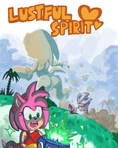 [OmegaZuel] Lustful Spirit ( Sonic- Amy- Tikal )
